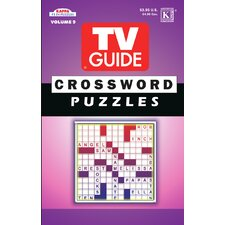 TV Guide Crossword Puzzle Book (Set of 3)