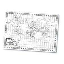 Outline Map - World
