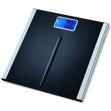 Precision Premium Digital Bathroom Scale in Black