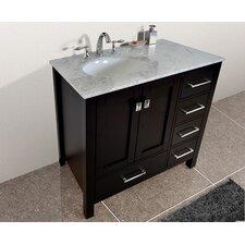 """Malibu 36"""" Single Bathroom Vanity Set"""