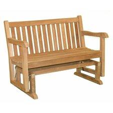 English Garden Teak Glider Bench