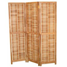 "71"" x 57"" Privacy 3 Panel Room Divider"