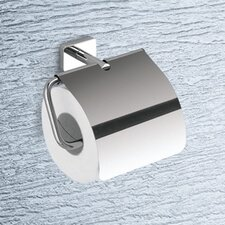 Minnesota Toilet Paper Holder with Cover in Chrome