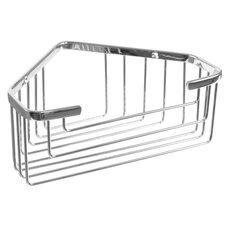Wire Corner Shelf in Chrome