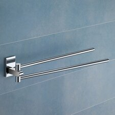 Maine Wall Mounted Jointed Double Towel Bar