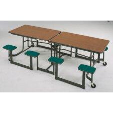"97"" L x 30"" W Rectangular Classroom Table"