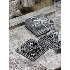 Mirrored Coaster (Set of 6)