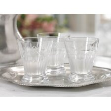 Frosted Accent Etched Tumbler (Set of 6)