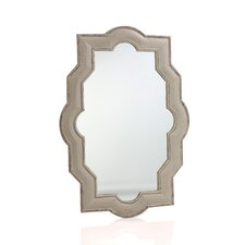 Barcelona Wooden Wall Mirror