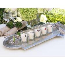 10 Pieces Glass Tealight Votive