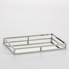 Rectangular Mirrored Tray