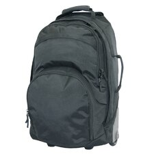"22"" Multi-Pocket Wheel Backpack"