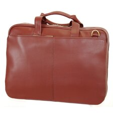Business Leather Laptop Briefcase