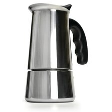 Stainless Steel 6 Cup Stovetop Espresso Maker