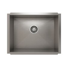 "ProInox 23"" x 18"" Undermount Single Bowl Kitchen Sink"