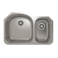 "ProInox 31"" x 20"" Undermount Single Bowl Kitchen Sink"