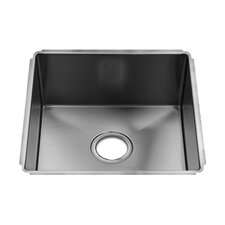 "J7 16"" x 17.5"" Undermount Single Bowl Kitchen Sink"