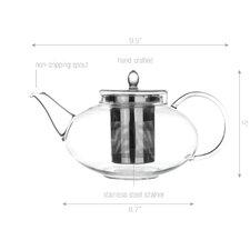 Harmony 2 Piece 1.56-qt. Teapot