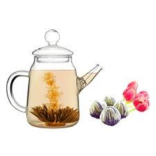 Duo 0.5-qt. Jasmine Fab Flowering Teapot