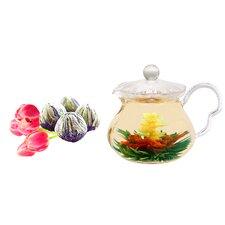Fairy 0.63-qt. Jasmine Fab Flowering Teapot