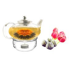 Harmony 1.56-qt. Fab Flowering Teapot