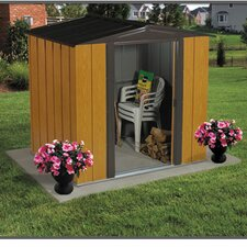 Woodlake 6 Ft. W x 5 Ft. D Steel Storage Shed