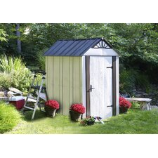 Designer Series Metro™ 4 Ft. W x 6 Ft. D Steel Storage Shed