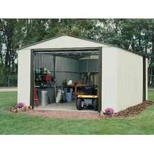 Murryhill 12 Ft. W x 24 Ft. D Vinyl Coated Steel Storage Shed