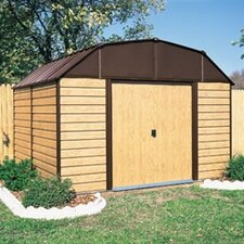 Woodhaven 10 Ft. W x 9 Ft. D Steel Storage Shed