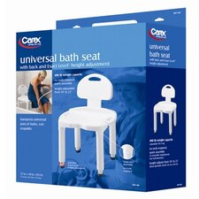 Universal Bath Bench with Back