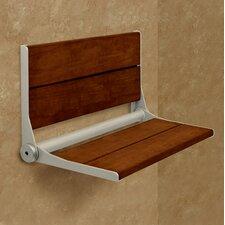 Invisia SerenaSeat Fold-Away Brazilian Walnut Shower Seat