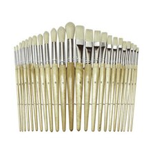 Wood Brushes (Set of 24)