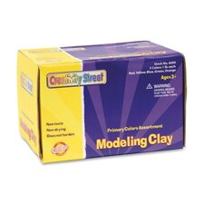 Nonhardening Modeling Clay , Non-Toxic, 5 Lb., Assorted