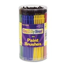 Canister of Paint Brushes , 144 CT, Assorted