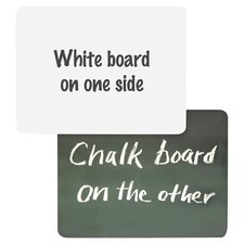 Combination Lap Board Whiteboard, 1' x 1'