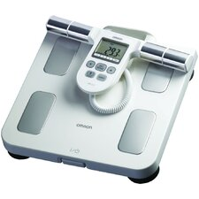 Full-Body Sensor Composition Monitor and Scale in White