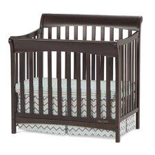 Ashton Mini 4-in-1 Convertible Crib with Mattress