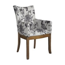 Sophisticate Floral Arm Chair (Set of 2)