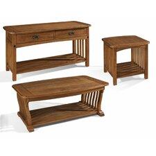 Craftsman Coffee Table Set