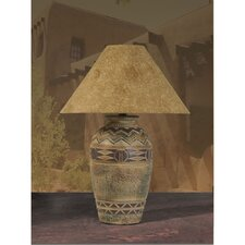 "Southwest 30"" H Table Lamp with Empire Shade"