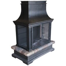 Sevilla Steel Wood Fireplace