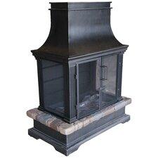 Sevilla Steel / Slate Gas Fireplace