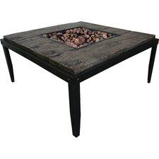Courtland Steel Outdoor Table Top Fireplace