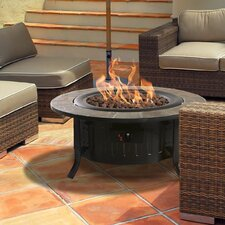 Bolen Steel Outdoor Gas Table Top Fireplace