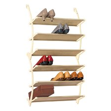 Vela Over Door Shoe Shelves