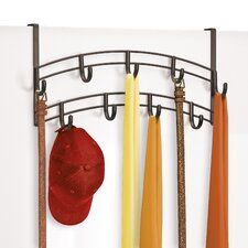 Over Door Accessory, Scarf, & Jewelry Organizer - 9 Hook