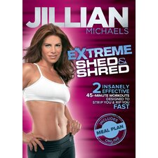 Jillian Michaels Extreme Shed and Shred DVD