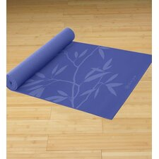 "0.20"" Premium Ash Leaves Printed Yoga Mat"