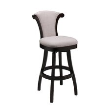 "Vanburen 26"" Swivel Bar Stool with Cushion"