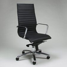 Kaffina High-Back Office Chair with Arms